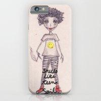 iPhone & iPod Case featuring Smells like teen spirit by Gabriela Von Gal
