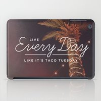 Taco Tuesday iPad Case