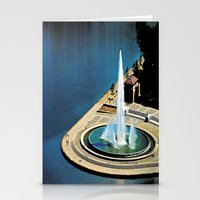 The Fountain at The Point Stationery Cards