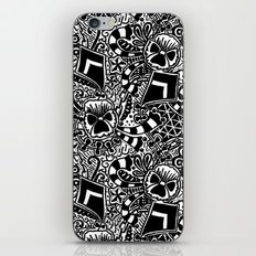 Theta Print iPhone & iPod Skin