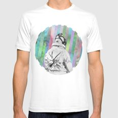 Space Finder Mens Fitted Tee SMALL White