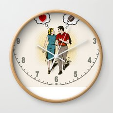 On Vastly Different Wavelengths Wall Clock