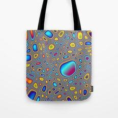 Psychedelic Pebbles Tote Bag