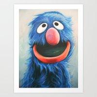 Grover Art Print