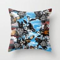 HISTORICAL-3 Throw Pillow