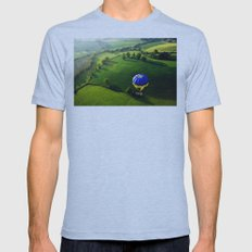 Above The Shires Mens Fitted Tee Athletic Blue SMALL