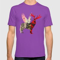 FabCreature · Steppenwo… Mens Fitted Tee Ultraviolet SMALL
