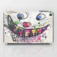 We Are What We Believe We Are iPad Case