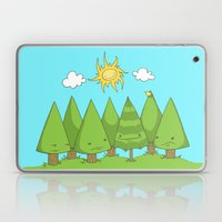 The Pine Forest Laptop & iPad Skin