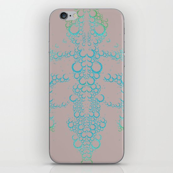 Ink Blot (Dark) iPhone & iPod Skin
