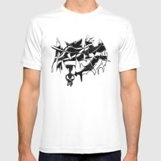 MMA Mens Fitted Tee White SMALL