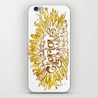 Glorious Summer of York - Richard III Quote Art  iPhone & iPod Skin