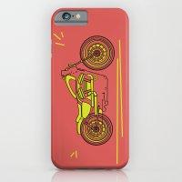 bike iPhone & iPod Cases featuring Bike by Daniella Gallistl