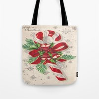 A Vintage Merry Christma… Tote Bag
