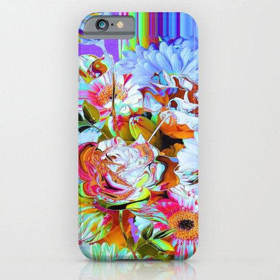 Wild Floral Abstract iPhone & iPod Case