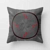 Throw Pillow featuring Clock....? by MattXM85