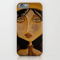 iPhone & iPod Case featuring Pilot Girl by Gabriele Perici