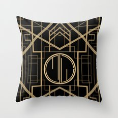MJW- GREAT GATSBY STYLE Throw Pillow