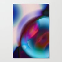 Color Vortex I Canvas Print