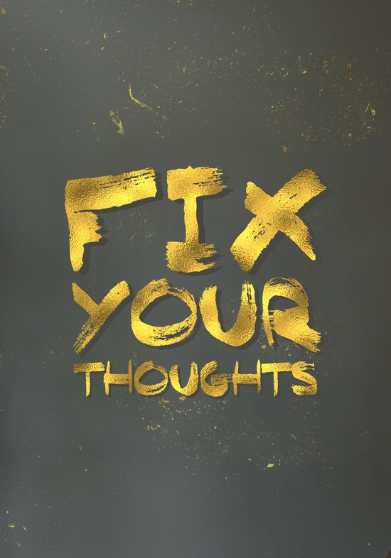 "Phil 4:8 ""Fix your thoughts..."" Art Print"