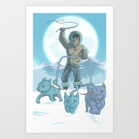 CatSled Art Print