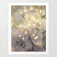 crystal2 Art Print