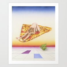 Pizza 69 Art Print