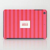 Color Is Brave iPad Case