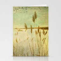 Winter Grass Stationery Cards