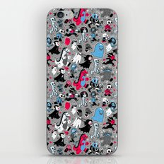 Alt Monster March (Gray) iPhone & iPod Skin