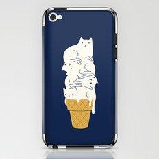 Meowlting iPhone & iPod Skin