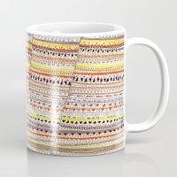 Cone pattern Mug