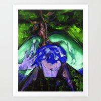 Passion Green Art Print