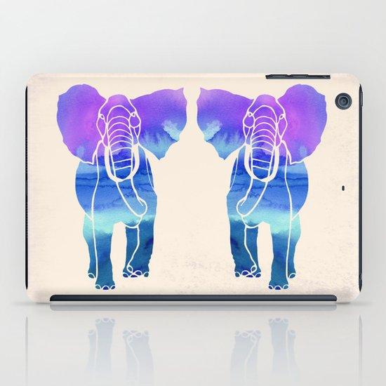 Watercolor Elephant iPad Case
