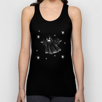 Starry Nights Scary Ghost Unisex Tank Top