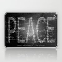 Peace is Always Beautiful Laptop & iPad Skin