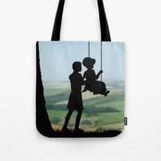 Childhood Dreams, Push Me Tote Bag