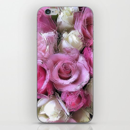 Glossy Roses iPhone & iPod Skin