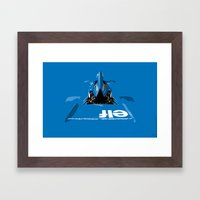 Jackie Stewart, Tyrrell … Framed Art Print