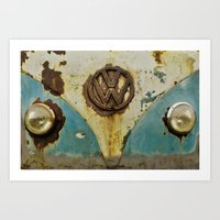VW Rusty Art Print