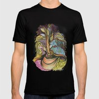 Tree Roots Mens Fitted Tee Black SMALL