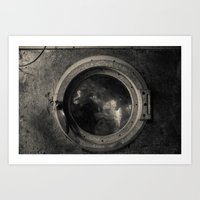 Washing Machine Art Print