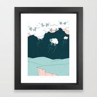 Where Do Good Sheep Go... Framed Art Print