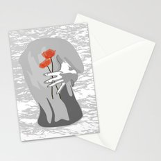 Poppy Back Stationery Cards