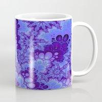 Purple Fractal Art Mug