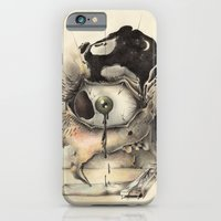 iPhone & iPod Case featuring Awake I Lie, Waiting on a Sleep that Never Comes by Clinton Jacobs