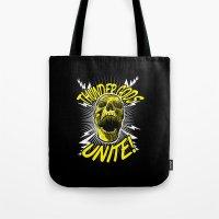 Thunder Gods Unite! Tote Bag