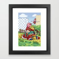 Dream Team Framed Art Print