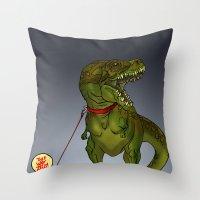 NO ZEUS Throw Pillow