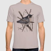 Grey Birdy 2 Mens Fitted Tee Cinder SMALL